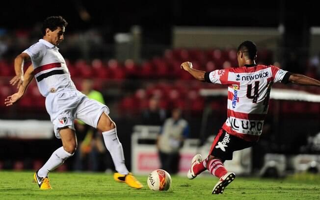 Ganso foi titular do São Paulo contra o  Linense no Paulistão