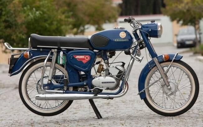 Zündapp KS 100 portuguesa, produzida nos anos 80 pela Famel