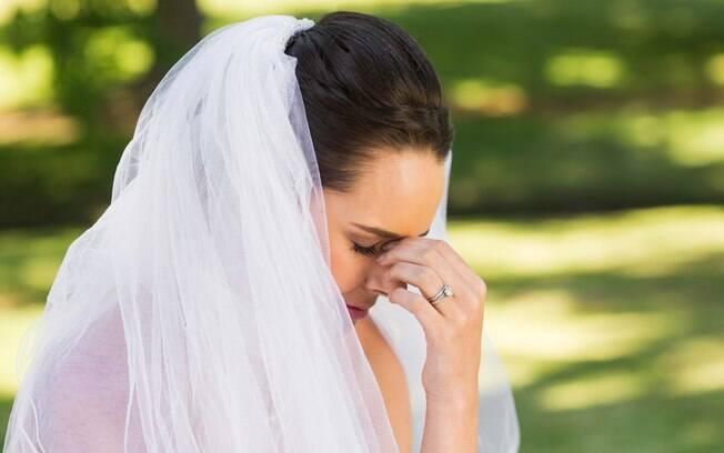 A noiva revelou que estava apaixonada pelo organizador do seu casamento e ele pediu para ela não confundir as coisas