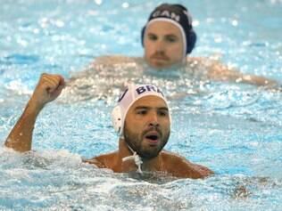 No masculino, Brasil vence em estreia