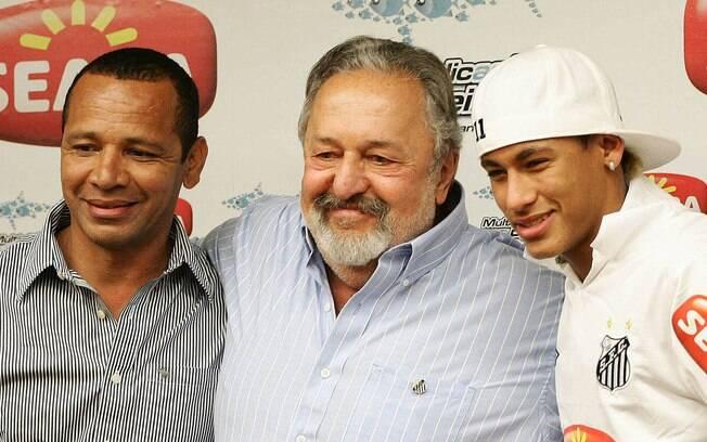 Neymar pai, Luis Álvaro de Oliveira e Neymar