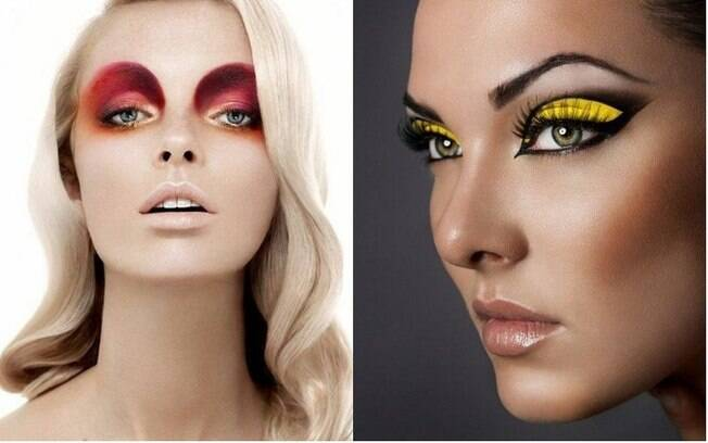 Apesar de ser mais usada no cinema, as francesas estão apostando na maquiagem artística como dicas de beleza diárias