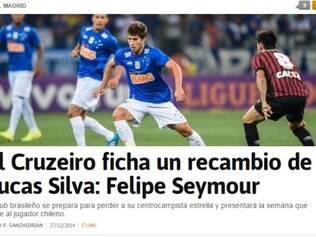 Lucas Silva segue sendo destaque na imprensa espanhola: Seymour seria mais um indício de sua saída