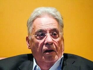 O ex-presidente FHC também teceu críticas às irregularidades da estatal