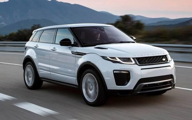 Range Rover Evoque chegou a ser reestilizado em 2016, mas manteve bastante das linhas da versão original