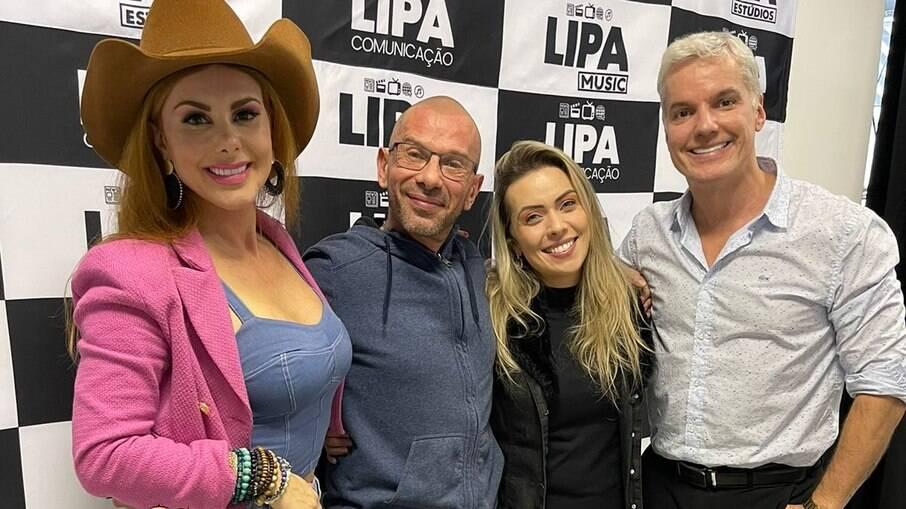 Deborah Albuquerque, Rafael Ilha, Aline Kezh e Bruno Salomão