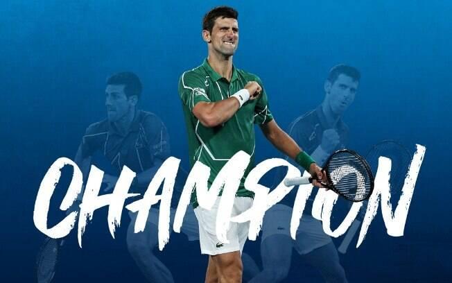 'Rei de Melbourne': pela oitava vez na carreira, Djokovic é campeão do Aberto da Austrália