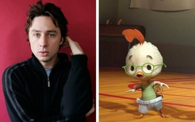Zach Braff – Chicken Little (O Galinho Chicken Little)