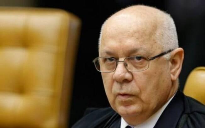 O ministro do Supremo Tribunal Federal Teori Zavascki: lista divulgada traz quase 50 políticos