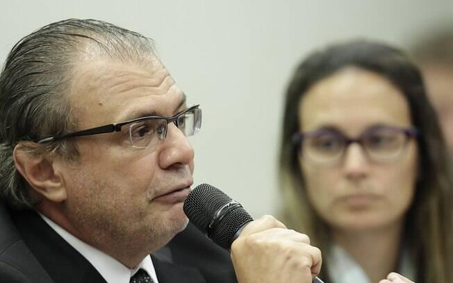 O ex-gerente da estatal Pedro Barusco na comissão Parlamentar de Inquérito (CPI) da Petrobras