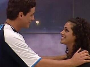 Fael encontra Noemí, com quem teve um affair no Big Brohter Brasil