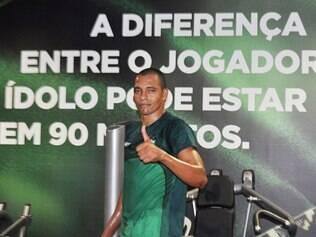 Gilberto Silva realiza a fase final de recuperação da contusão no CT Lanna Drumond