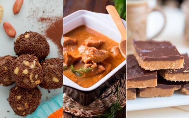 É possíver - e fácil - usar a pasta de amendoim em receitas doces e salgadas. Veja todos os detalhes dessas delícias