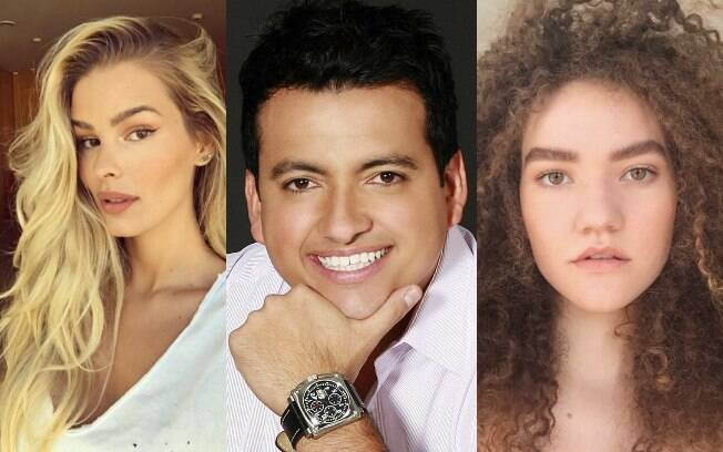 Modelo Yasmin Brunet, hair stylist Rodrigo Cintra e a cantora Vitória Falcão deram dicas de como ter um cabelo longo