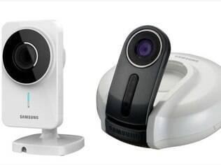 Câmeras da Samsung se conectam a serviço online