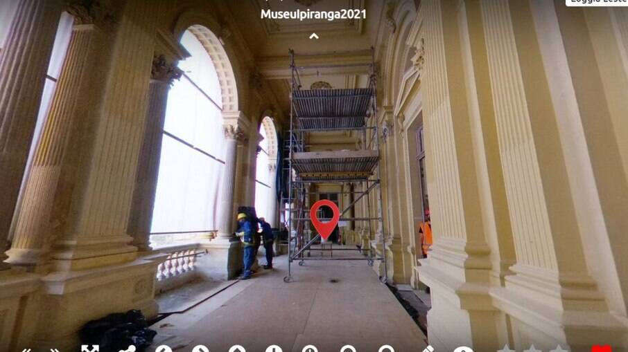 Tour virtual pelo Museu do Ipiranga