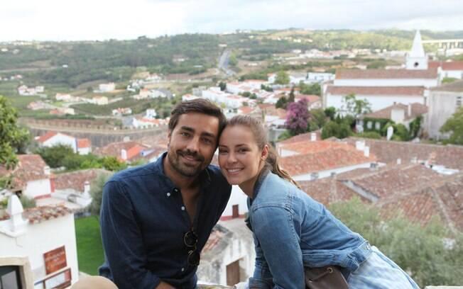 Paolla Oliveira e Ricardo Pereira no novo filme
