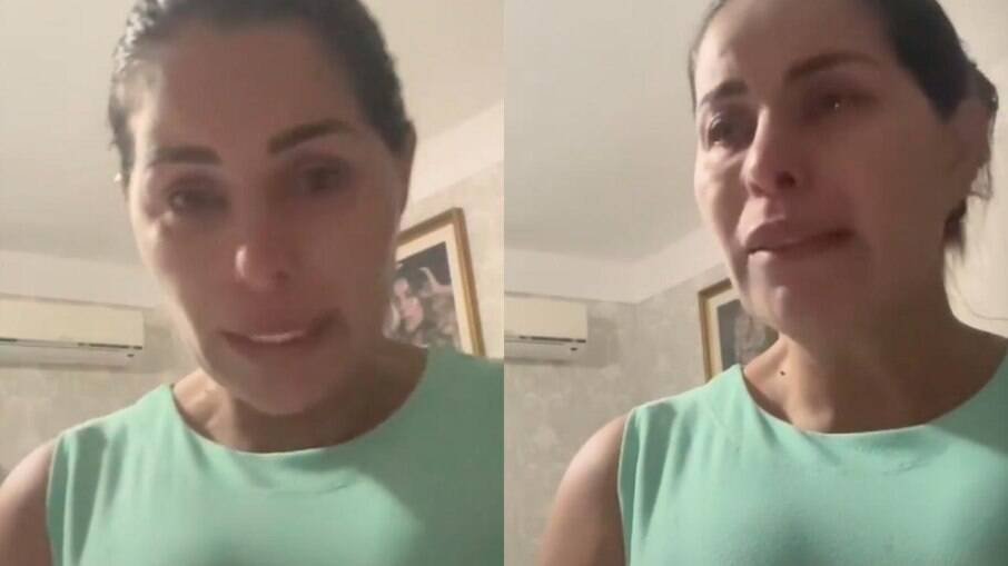 Walkyria Santos desabafa após morte do filho
