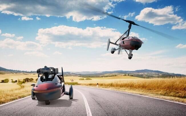 PAL-V Liberty: O carro voador holandês
