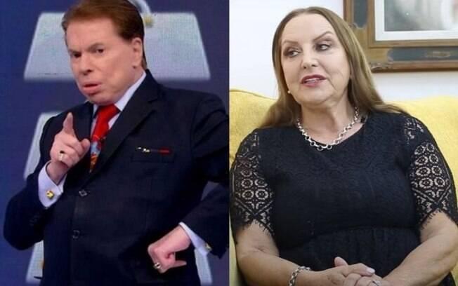 Silvio Santos e Clemozeide Lundgren