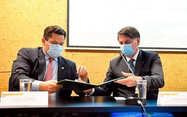 Bolsonaro em evento no Amapá
