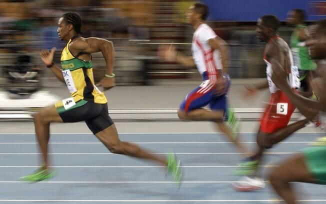 Jamaicano Yohan Blake tem a segunda melhor marca da história: 9s69