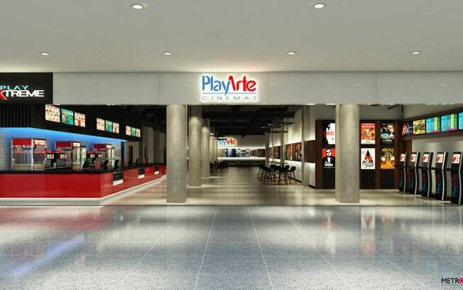 Rede de cinemas PlayArte anuncia complexo de salas no Shopping Ibirapuera