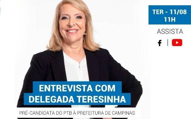 Delegada Teresinha é a entrevista do iG nesta terça-feira (11).
