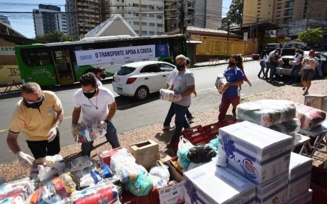 Campanha Campinas Sem Fome arrecada 20 toneladas de alimentos