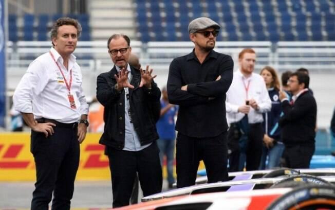 O ator Leonardo DiCaprio é fã de carros elétricos e tem uma equipe na Fórmula E, categoria que considera o futuro do automobilismo