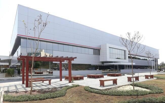 Centro de Pesquisa Aplicada da Toyota do Brasil, o primeiro da marca na América Latina,  em São Bernardo do Campo (SP)