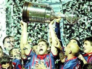 Atual campeão. O tradicional San Lorenzo, da Argentina, vai defender o título conquistado neste ano, o primeiro de sua história
