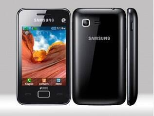Samsung Star 3 Duos: suporte a dois chips