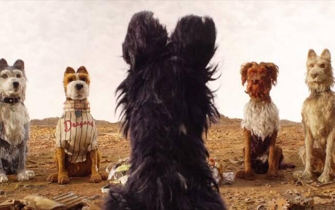 Cena de Ilha dos Cachorros, novo filme de Wes Anderson