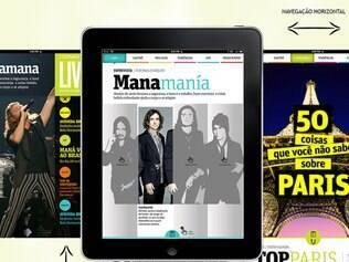 Navegue na horizontal e na vertical para trocar de artigos e ler nosso conteúdo semanal exclusivo
