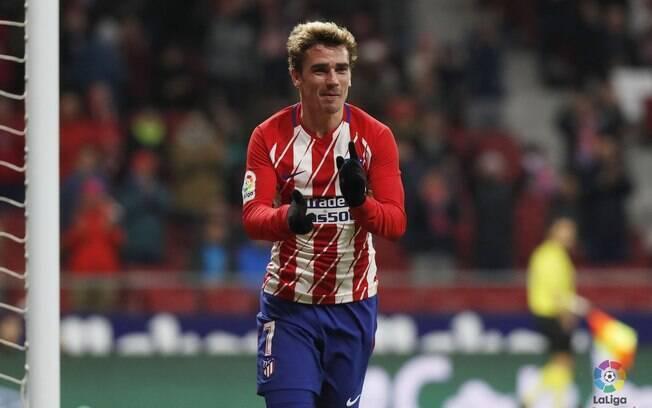 Antoine Griezmann, hoje no Atlético de Madri, é alvo da Juventus para a próxima temporada, diz jornal