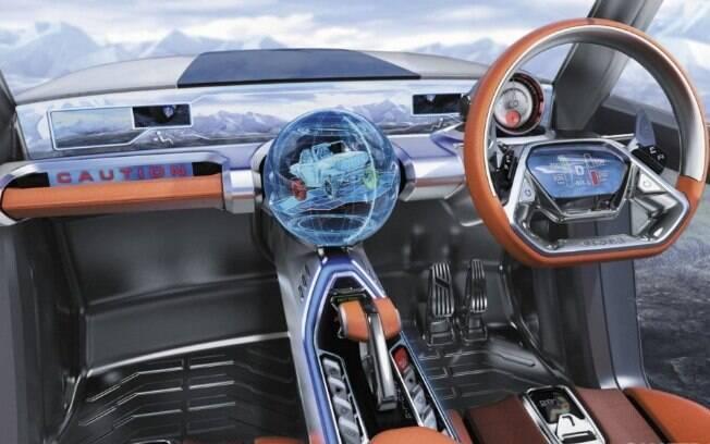 Repare a quantidade de aparatos eletrônicos, que podem ser usados para mapear o carro e o que estiver ao redor