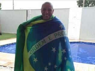 O ex-jogador da seleção, Roberto Carlos também mostrou seu apoio pelo Brasil no Instagram