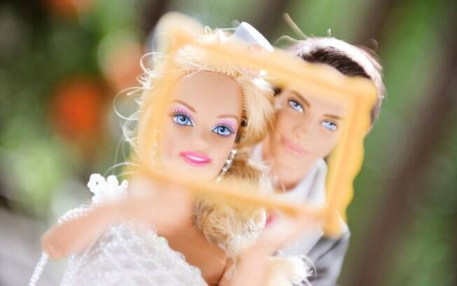 Barbie e Ken ganharam, até mesmo, um photo booth