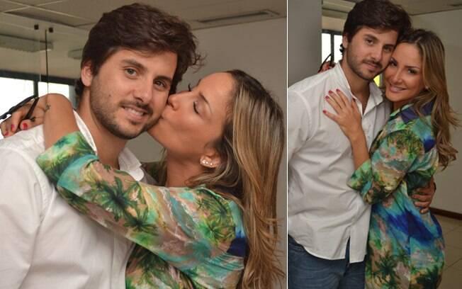 Claudia Leitte com o marido, Márcio Pedreira: cinco anos de casados