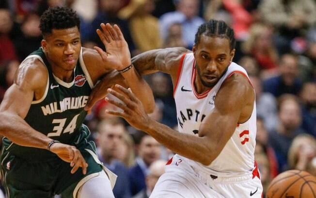 Milwaukee Bucks e Toronto Raptors definem o campeão da Conferência Leste