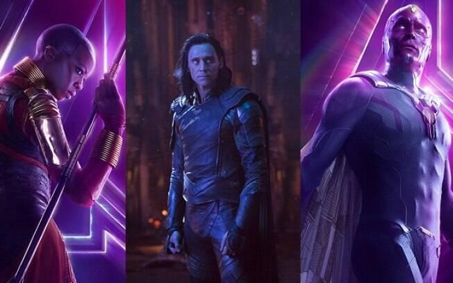 Okoye, Loki, Visão