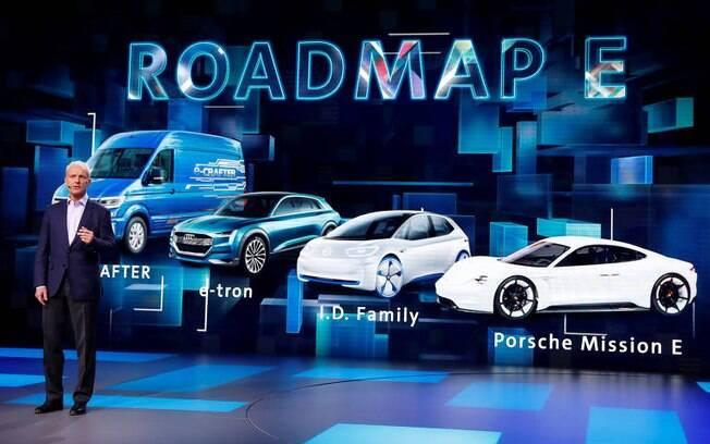 Audi e-tron é apenas um entre os planos de lançamento para futuros carros elétricos do grupo Volkswagen