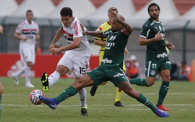 Clássico Choque-Rei entre São Paulo e Palmeiras foi muito disputado e com poucas chances