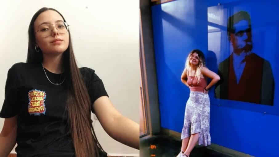 Laura (à esquerda) e Hanna (à direita) contam como a falta de representatividade afetou os seus processos de auto aceitação