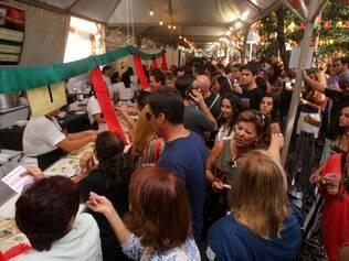 Cidades - Belo Horizonte - MG Festa Portuguesa promovida pela Camara Portuuesa de Comercio no Brasil.   FOTO: FERNANDA CARVALHO / O TEMPO - 07.06.2014