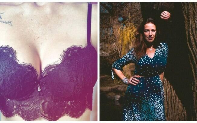 Luana Piovani mostra que está com tudo ao posar de lingerie preta de renda