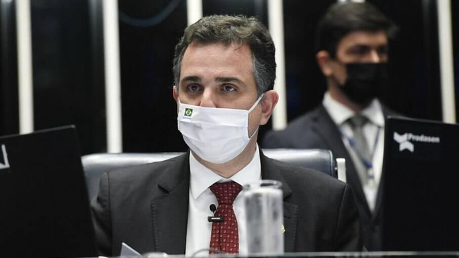 Rodrigo Pacheco, rpesidente do Senado Federal e chefe do Congresso Nacional