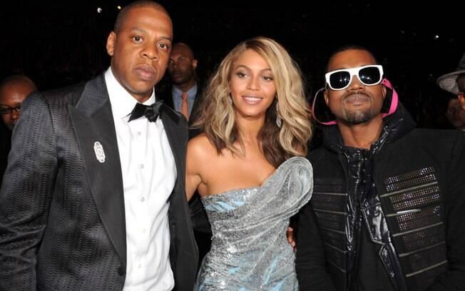 Jay-Z, Beyoncé e Kanye West