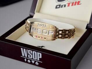 Bracelete de ouro do WSOP, conquistado em 2011
